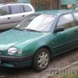 Stało się. Od dzisiaj jestem (szczęśliwym) posiadaczem samochodu. Toyota Corolla, 3-drzwiowy hatchback z 1997 roku. Zielona ;)